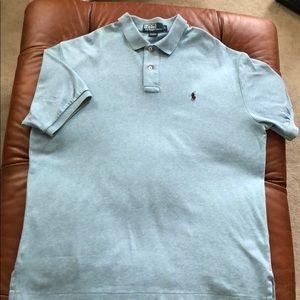 Polo Ralph Lauren Blue Golf Shirt